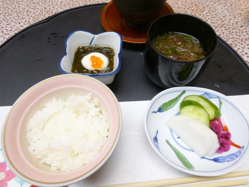 下田野の花亭こむらさきの夕食 食事