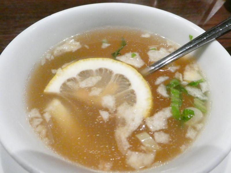 六本木バリ料理ワヤンバリ ランチのスープ