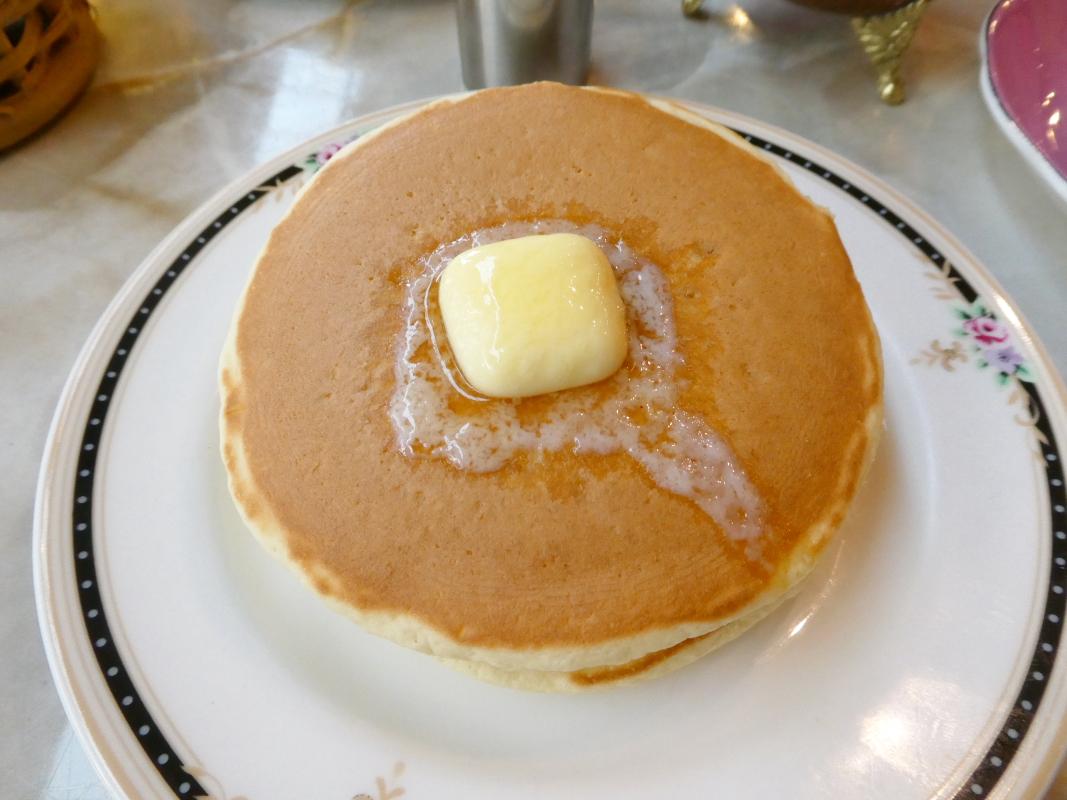 熱海_喫茶アジールのホットケーキ