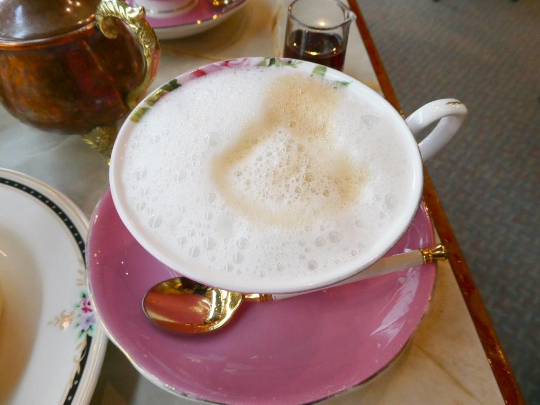 熱海_喫茶アジールのカフェオレ