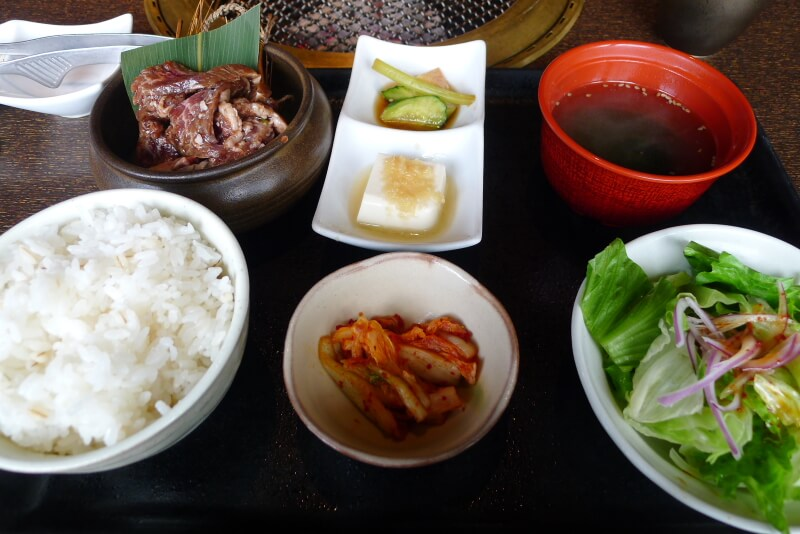 上野焼肉ランチ_土古里